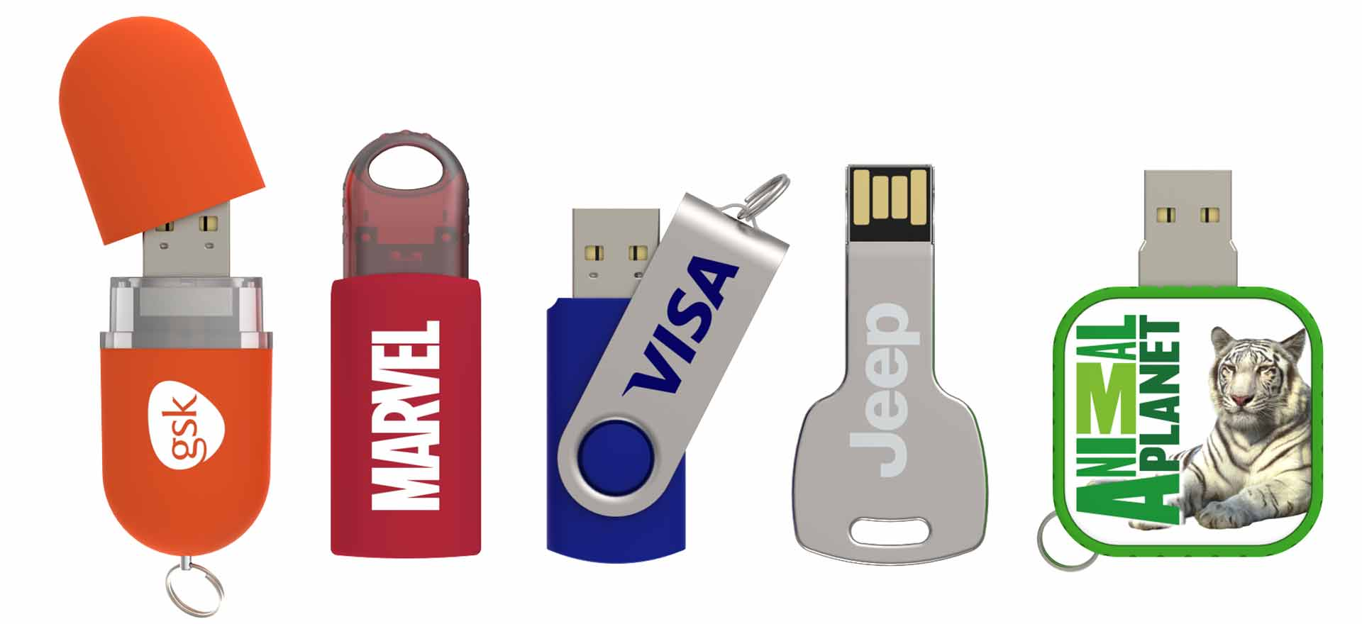 USB Flash Drives em 5 Dias!