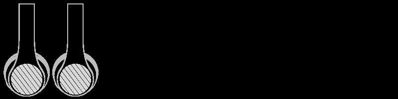 Auscultadores Bluetooth® Serigrafia