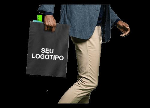 Compact - Sacos de compras em Lona personalizados