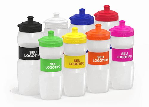 Fit - Fornecimento de garrafas de água em quantidade com logo