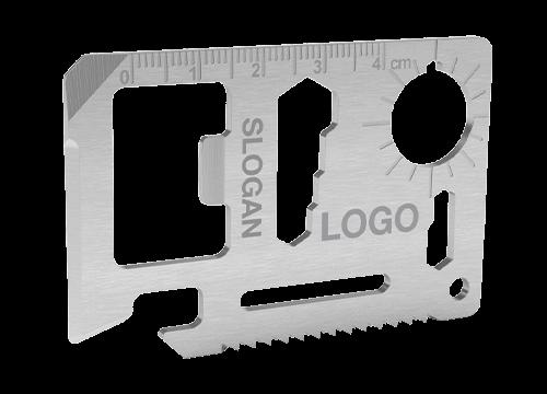 Kit - Ferramenta multi-funções em tamanho de cartão de crédito
