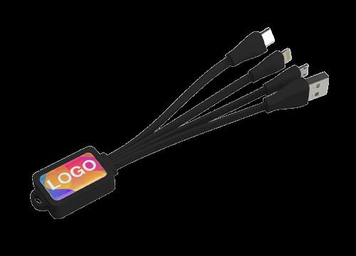 Multi - Carregamento USB Octopus Jogo de Cabos Personalizado