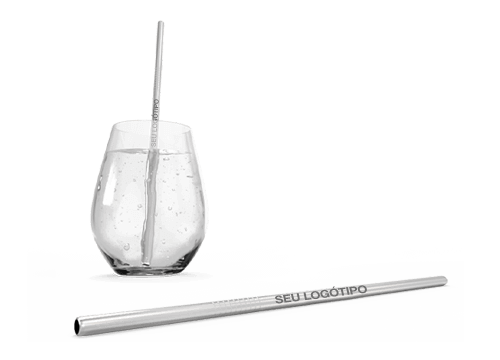 Straight - Palhinhas Reutilizáveis Por Medida