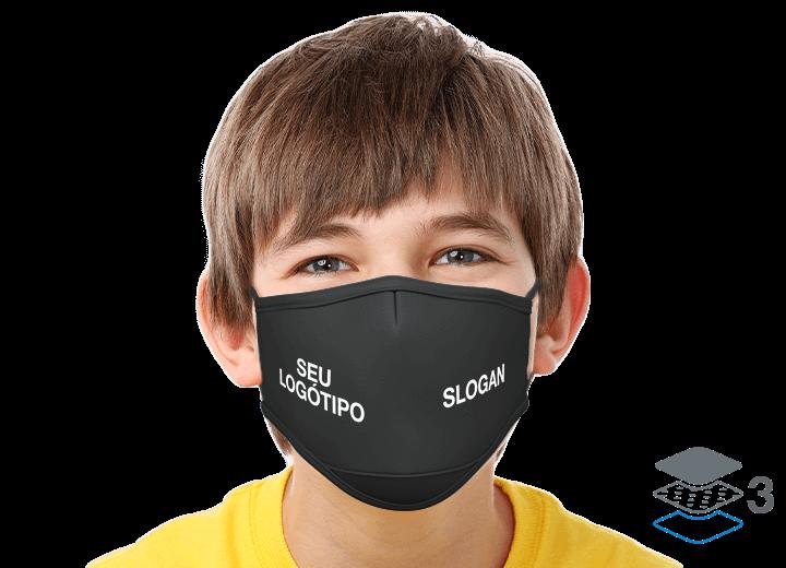 Junior - Máscaras com logótipo