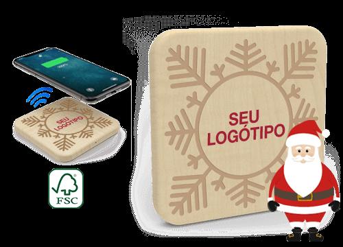 Forest Christmas - Carregadores Sem Fio Personalizados Lisboa