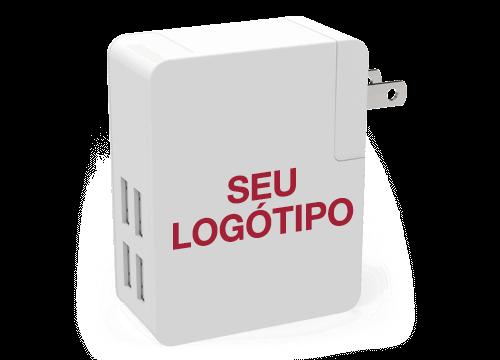 Latitude - Carregadores Viagem USB Personalizaveis