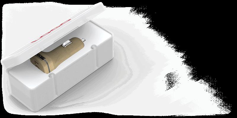 Woodie - Carregadores USB para Automóvel Personalizados Preços