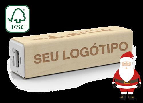 Maple Christmas - Powerbank Personalizados