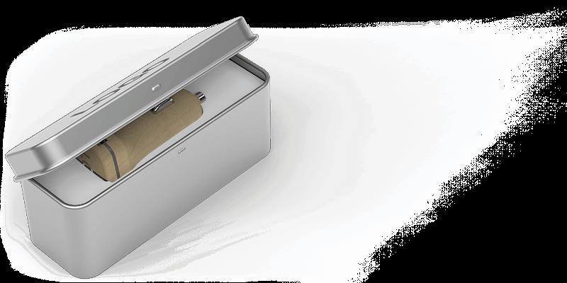 Woodie - Carregadores USB para Automóvel Personalizados
