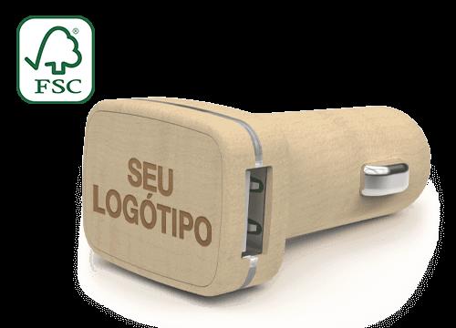 Woodie - Carregadores USB para Automóvel Personalizados Coimbra