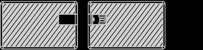 Cartão USB Serigrafia