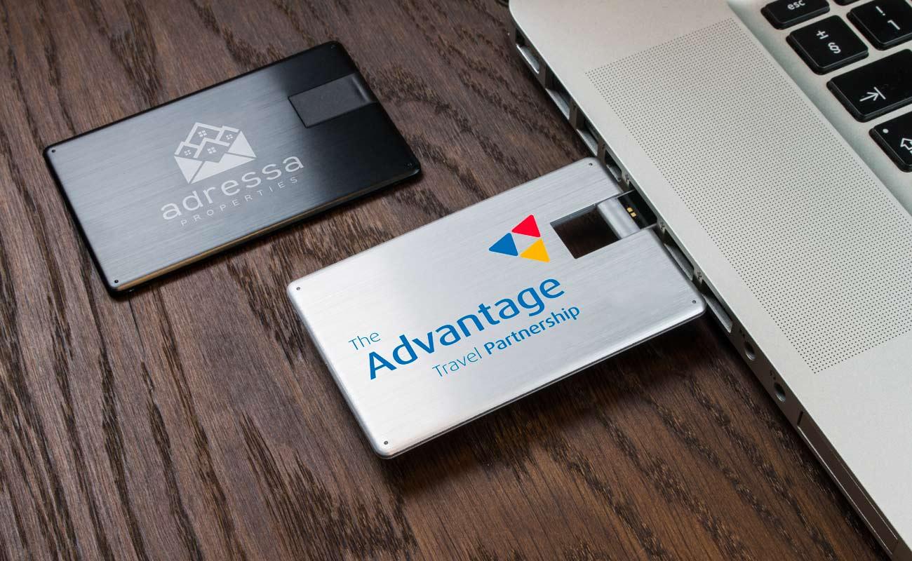 Alloy - Cartão USB Personalizado