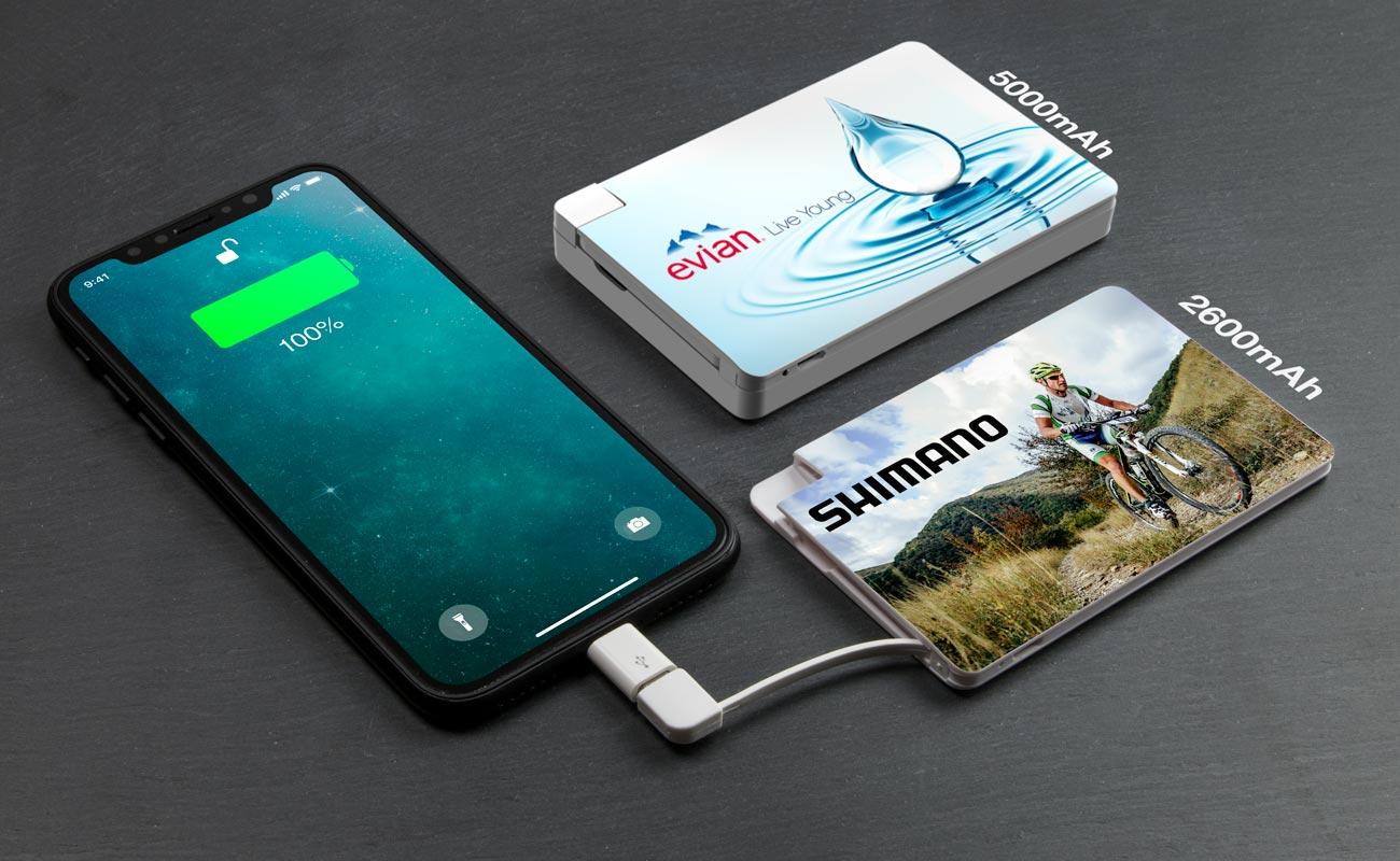 Card - Power Bank Personalizado