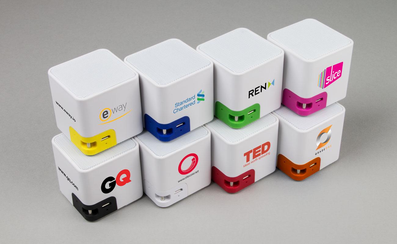 Cube - Colunas Bluetooth Personalizadas