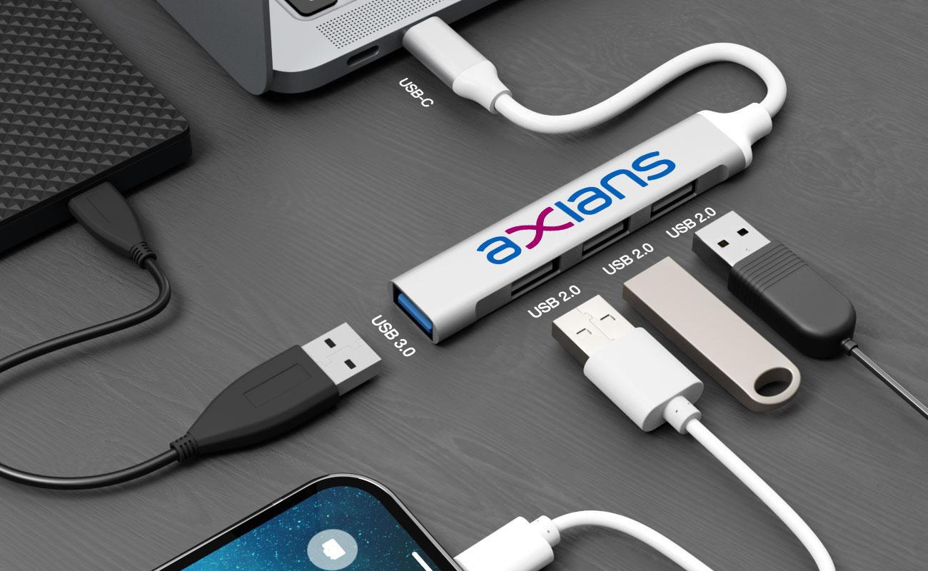 Expand - Hub USB personalizado