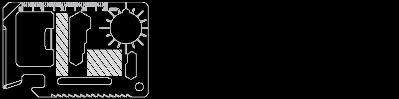 Ferramenta Multifunções Serigrafia