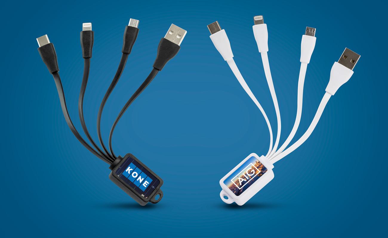 Multi - Cabo USB Octopus Personalizado