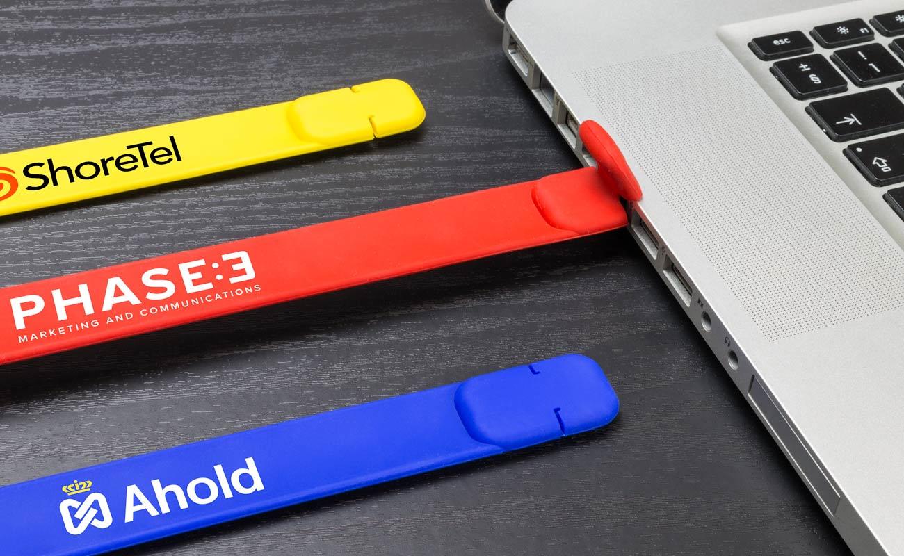Slap - Pulseira USB personalizada