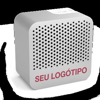 Tab - Colunas Sem Cabos Com Logotipo
