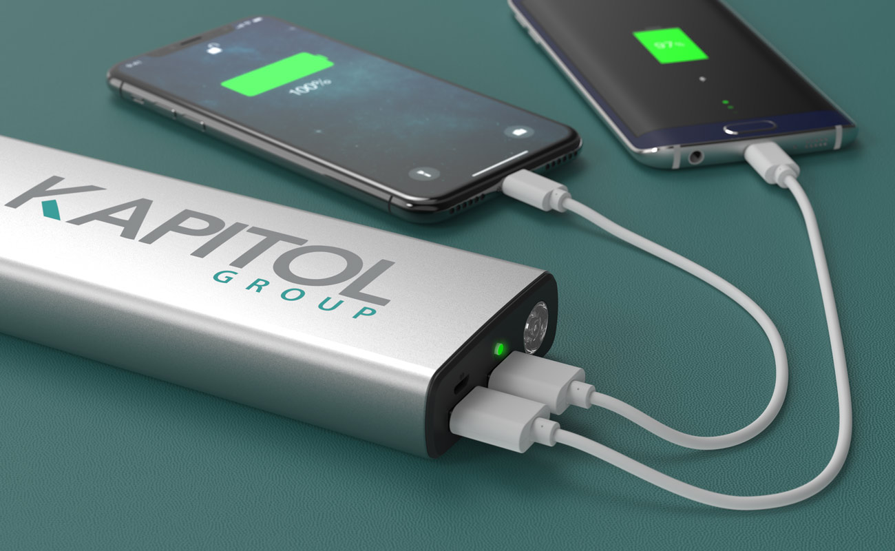 Titan - Power Bank Personalizado