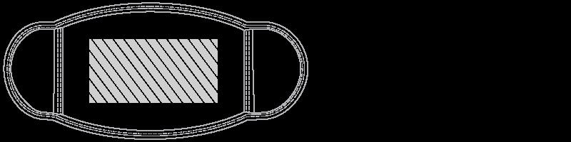 Máscara Serigrafia