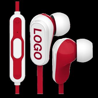 Vibe Bluetooth® - Auriculares Sem Cabos Personalizados