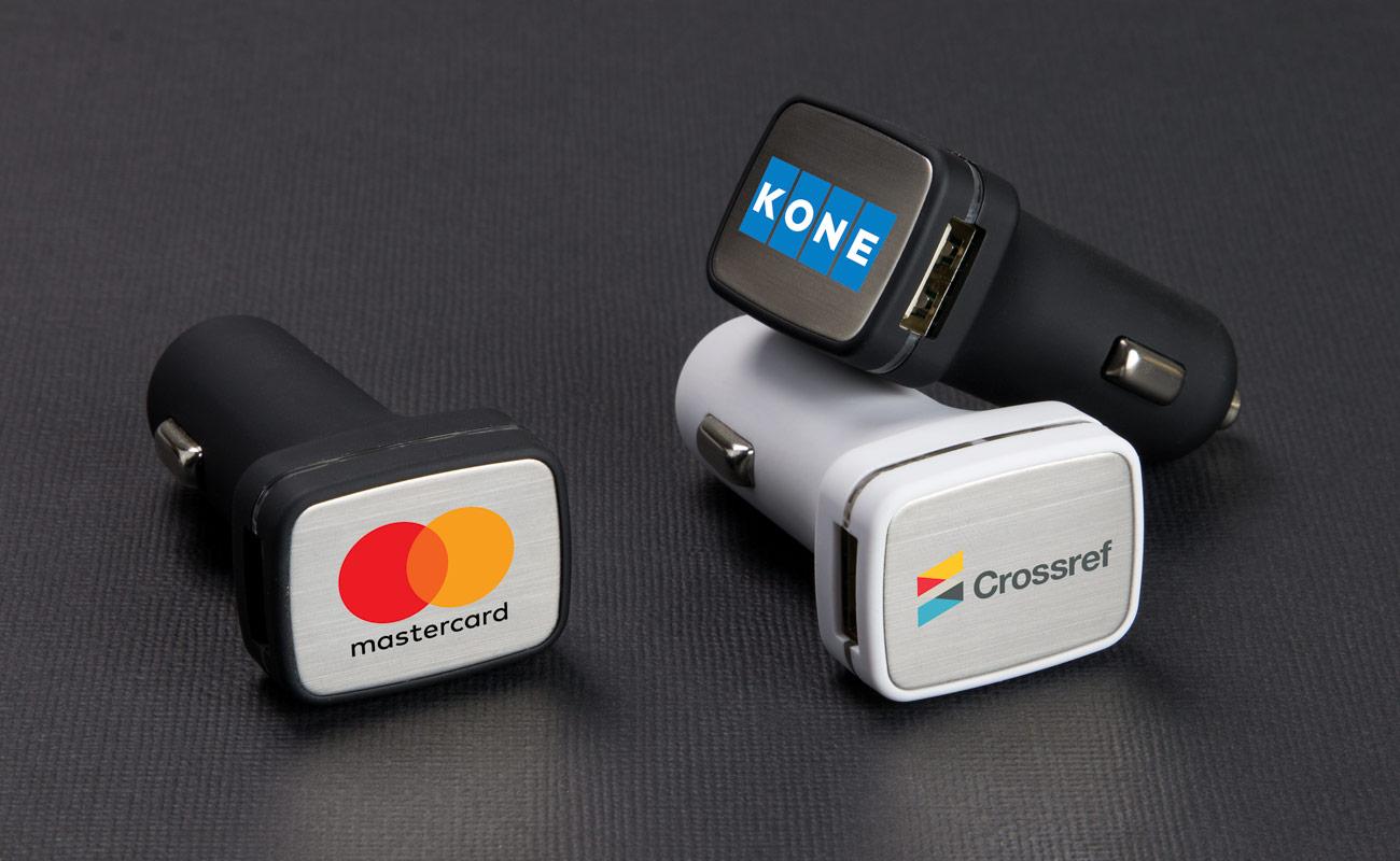 Zip - Carregadores USB para Automóvel Personalizaveis