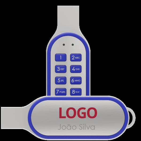 Code USB Individualmente Personalizados