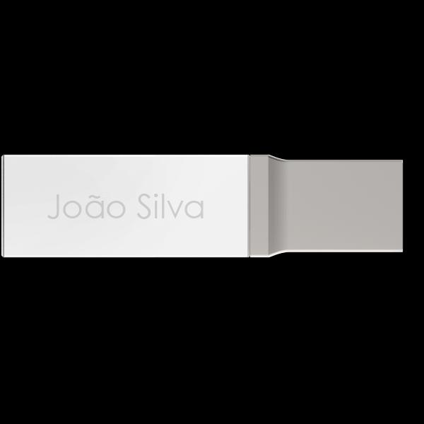 Crystal USB Individualmente Personalizados