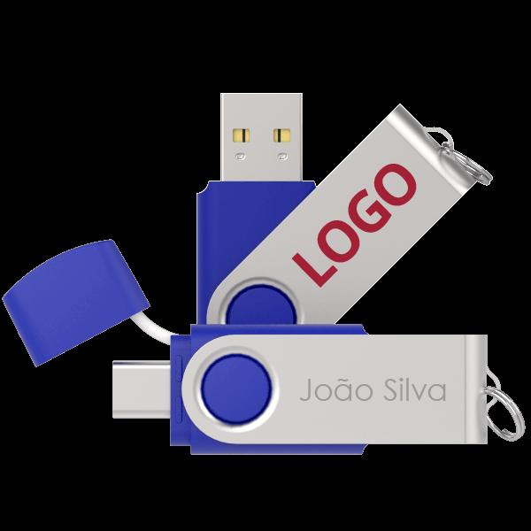 Twister Go USB Individualmente Personalizados